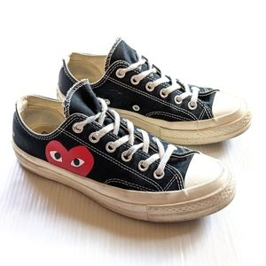 CONVERSE CDG comme des garcons PLAY sneakers